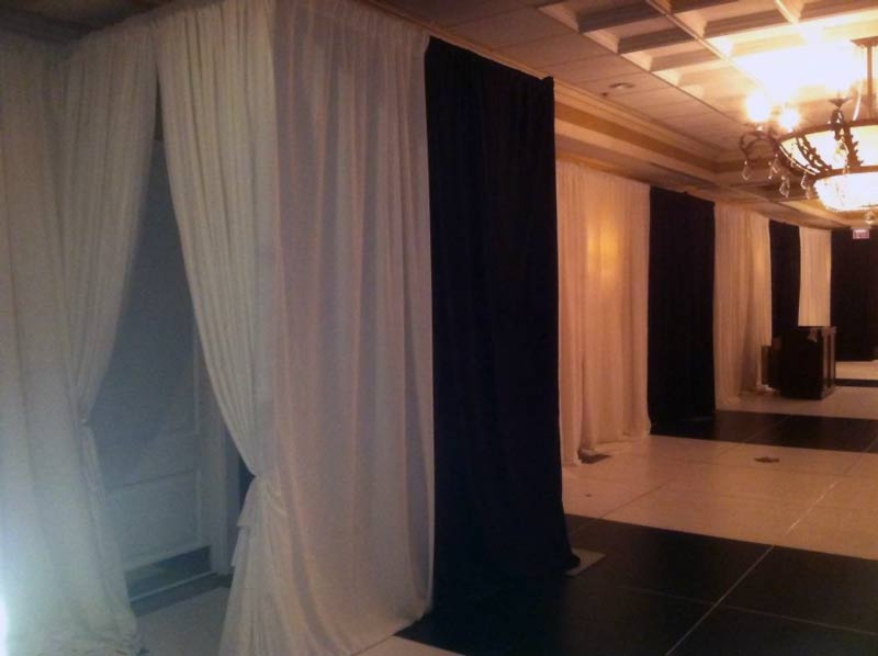 black-and-white-dance-floor-with-matching-drapes