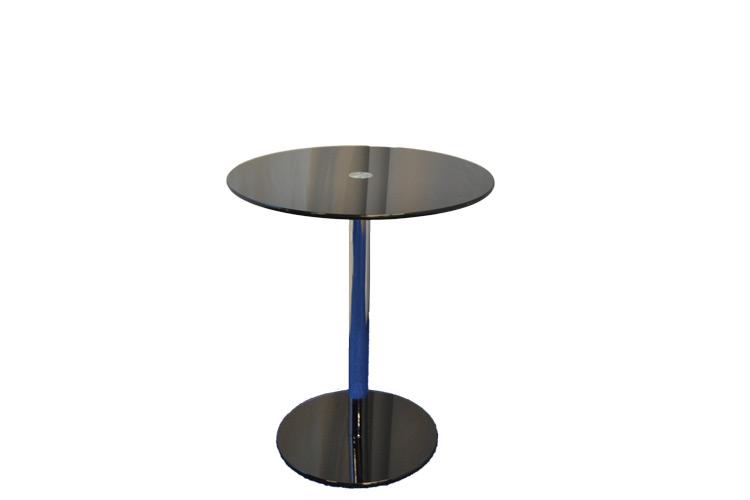 Black-Circle-Glass-Table