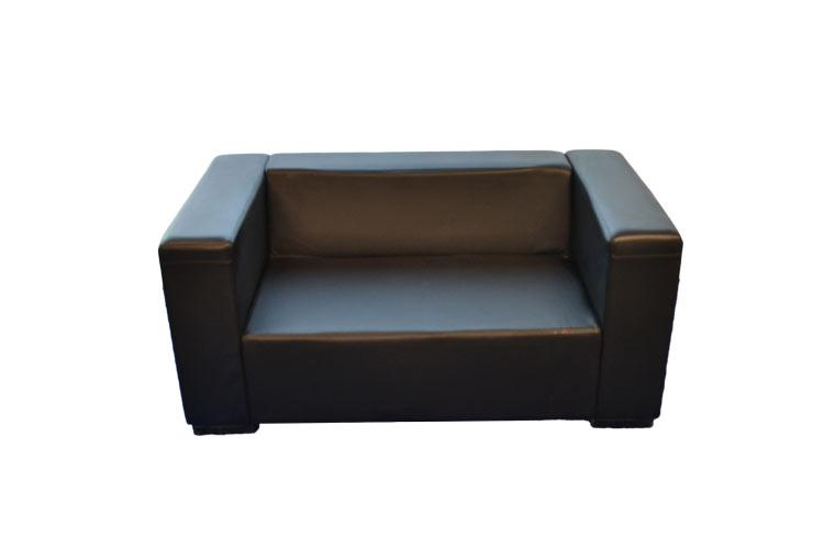 Black-Love-Seat