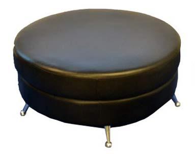 36inch-or-60inch-round-black-ottoman