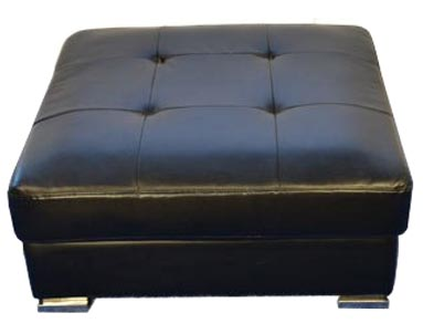 Black-square-tufted-ottoman