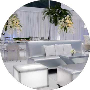 event-furniture-silver-and-gold