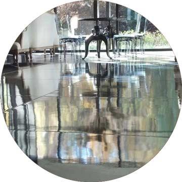 mirrored portable dance floor