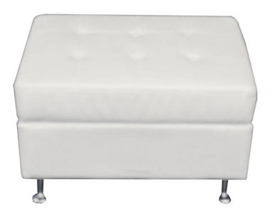 lounge-decor-half bench with tufts