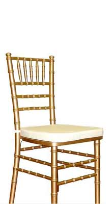 Gold Chiavari Stool