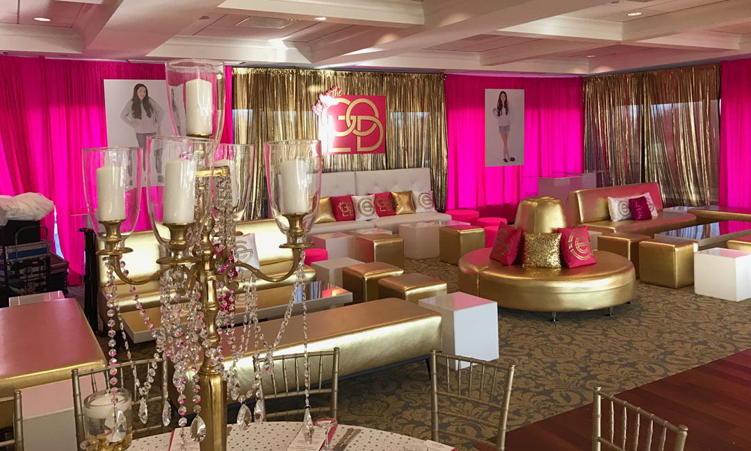 Sweet Sixteen Birthday Party by Tower Productions